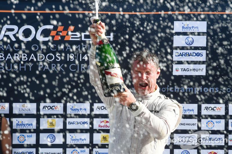Le vainqueur David Coulthard