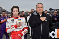Ryan Blaney, Team Penske, Ford Fusion DEX Imaging and crew chief Jeremy Bullins