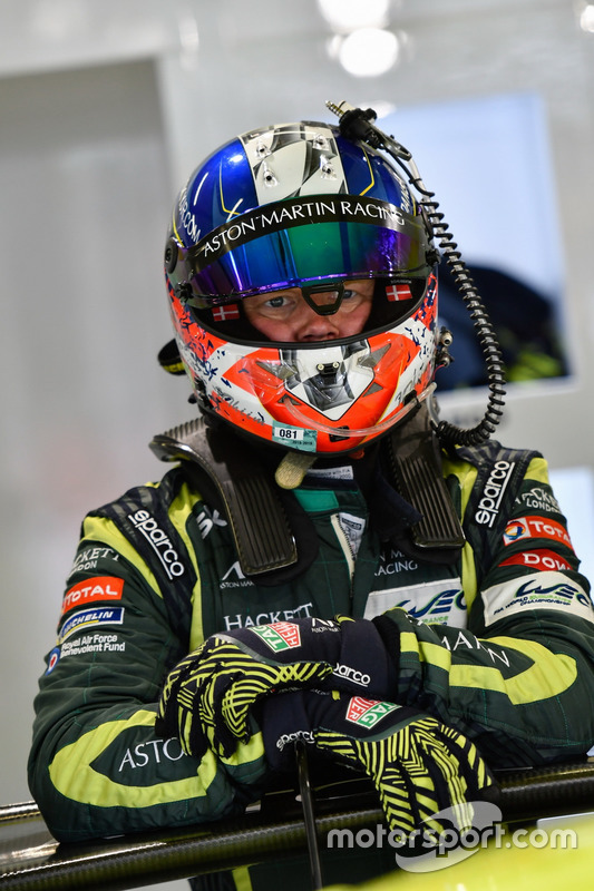 #95 Aston Martin Racing Aston Martin Vantage AMR: Nicki Thiim