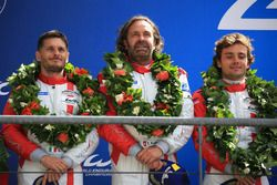 LMGTE Am podyum: 2. Thomas Flohr, Francesco Castellacci, Giancarlo Fisichella, Spirit of Race