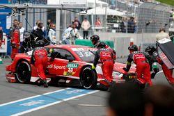 René Rast, Audi Sport Team Rosberg, Audi RS 5 DTM with a broken rear wing