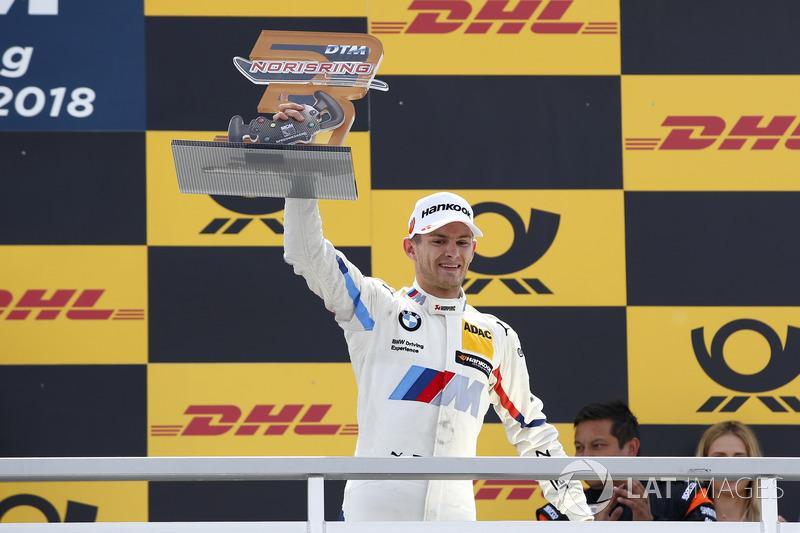 Podium: second place Marco Wittmann, BMW Team RMG