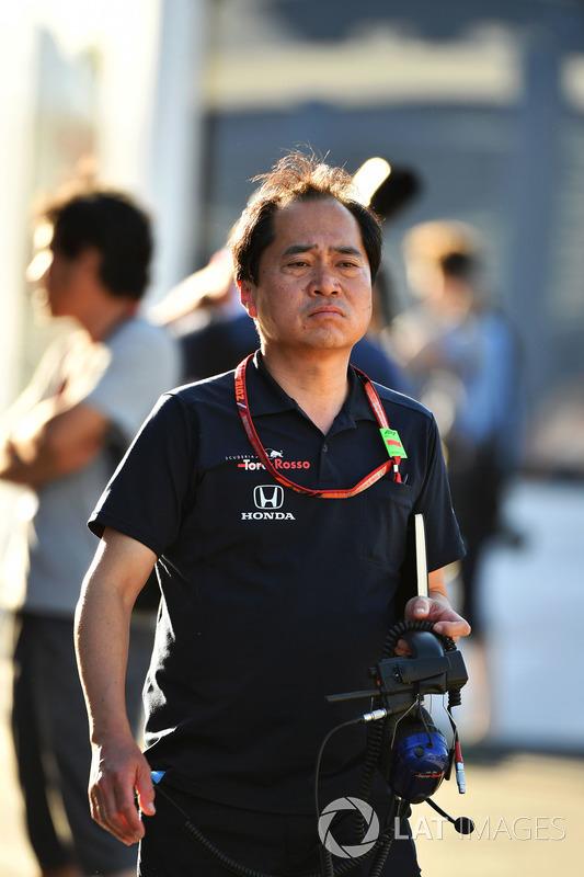 Toyoharu Tanabe, Direttore Tecnico Honda F1