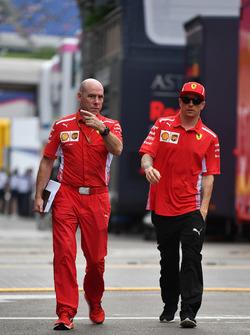 Jock Clear, Ferrari Hoofdengineer, Kimi Raikkonen, Ferrari