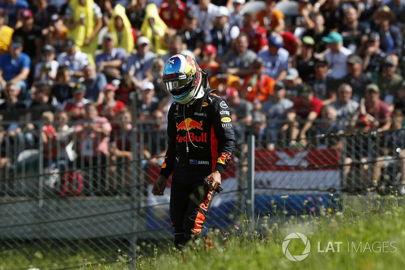 Daniel Ricciardo, Red Bull Racing abandona