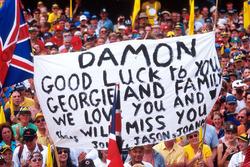 Fans de Damon Hill, Jordan