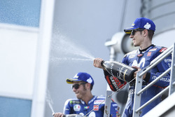 Podium: third place Maverick Viñales, Yamaha Factory Racing
