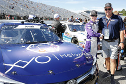 Brandon Jones, Joe Gibbs Racing, Toyota Camry XYO Networks and guests
