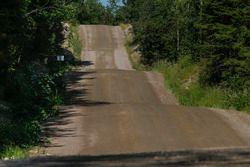 Rally Finland roads