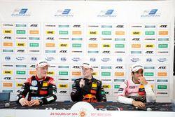 Conférence de presse : Fabio Scherer, Motopark Dallara F317 - Volkswagen, Dan Ticktum, Motopark Dallara F317 - Volkswagen, Jehan Daruvala, Carlin Dallara F317 - Volkswagen