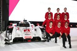 WEC LMP1 Audi Sport-coureurs