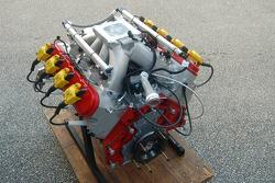 De nieuwe Ilmor/Chevrolet spec motor