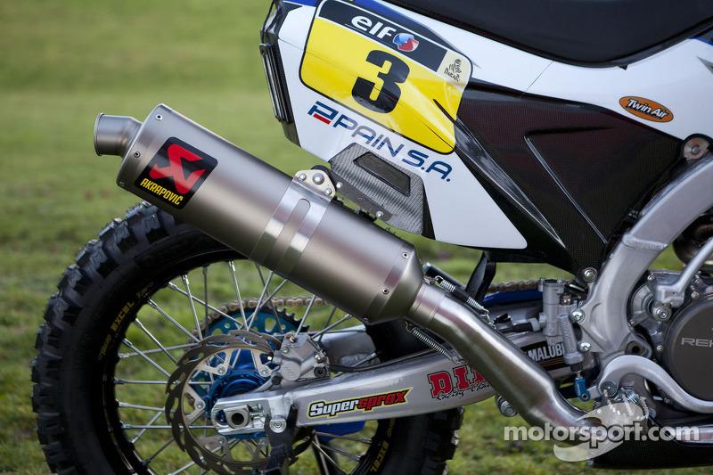 La Yamaha WR450F Rally