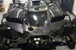 سيارة ليجييه جي.أس بي2 هوندا في مصنع مايكل شانك ريسينغ