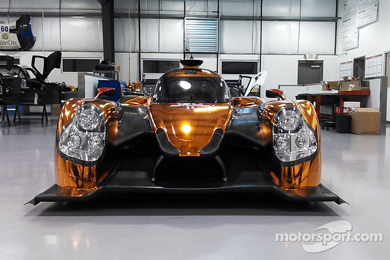 Der Ligier JS P2 Honda in Workshop von Michael Shank Racing