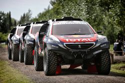 Peugeot Team llega a las pruebas
