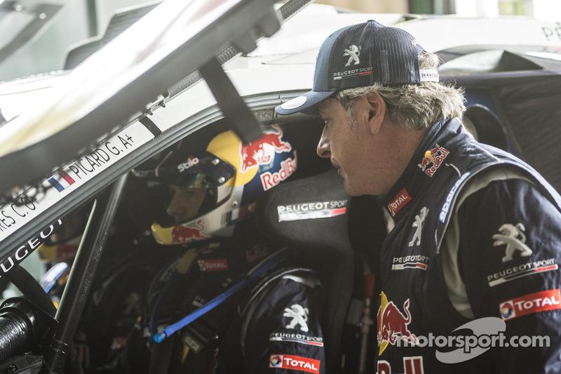 Carlos Sainz dan Cyril Despres