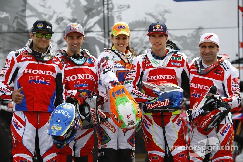 Honda riders