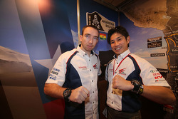 Nicolas Gibon y Akira Miura