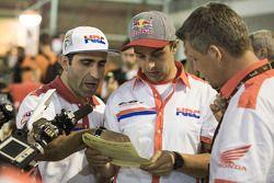 Paulo Goncalves and Helder Rodrigues