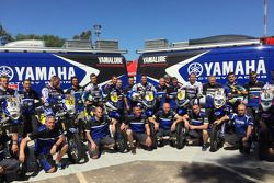 Photo de groupe Yamaha