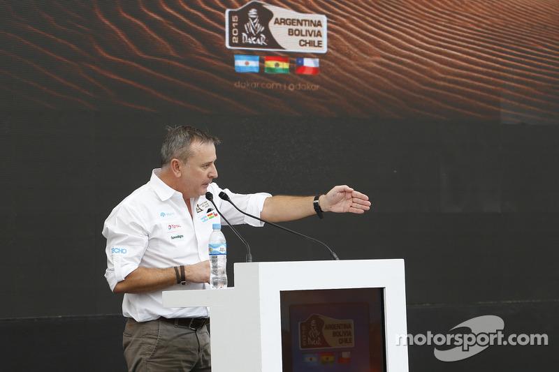 Etienne Lavigne, director del Dakar