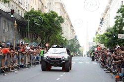 Peugeot en la salida
