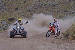 #274 Honda: Kees Koolen ; #156 KTM: Sakir Senkalayci
