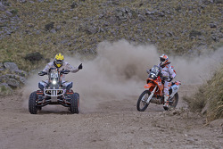#274 Honda: Kees Koolen, #156 KTM: Sakir Senkalayci