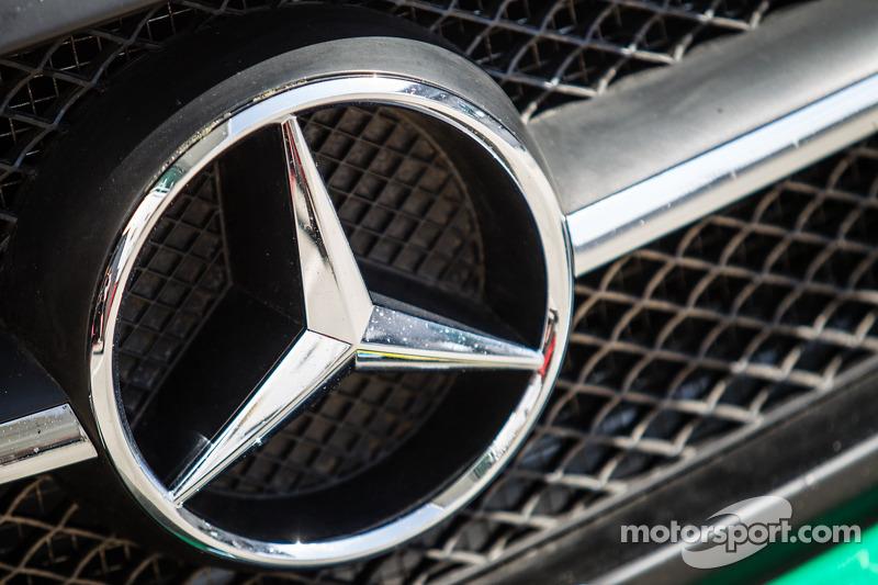 #2 Black Falcon, Mercedes SLS AMG GT3, Detailaufnahme