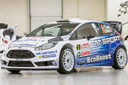 The 2015 M-Sport Ford Fiesta livery