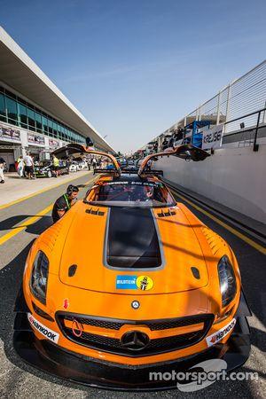 #96 Mike Racing,梅赛德斯SLS AMG GT3: Michael Chua, Joseph Chua, Rick Cheang