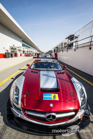 #30 Ram Racing Mercedes SLS AMG GT3: Cheerag Arya, Thomas Jäger, Tom Onslow-Cole, Adam Christodoulou