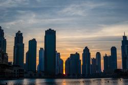 Pôr-do-sol em Dubai