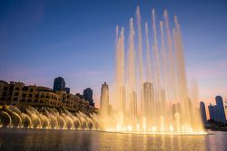 Lago Burj Khalifa