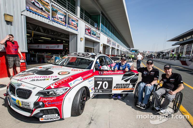#70 Mission Possible By Sorg Rennsport BMW M235i Racing Cup: Gustav Engljähringer, Marc Dilger, Mike