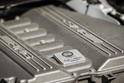 #30 Ram Racing Mercedes SLS AMG GT3 detalhe do motor