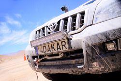 Detalle en el Dakar