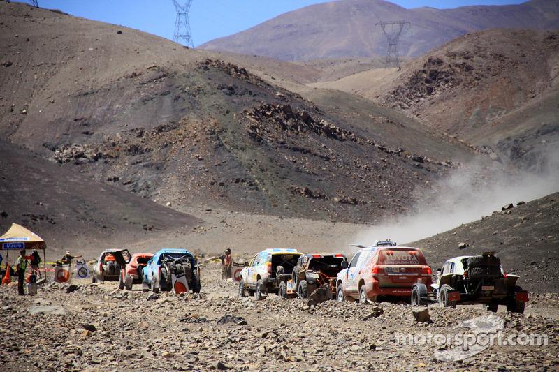 Perbatasan dari Argentina ke Chile