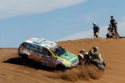 #316 Renault: Emiliano Spataro, Benjamin Lozada y #279 Can-Am: Lucas Innocente