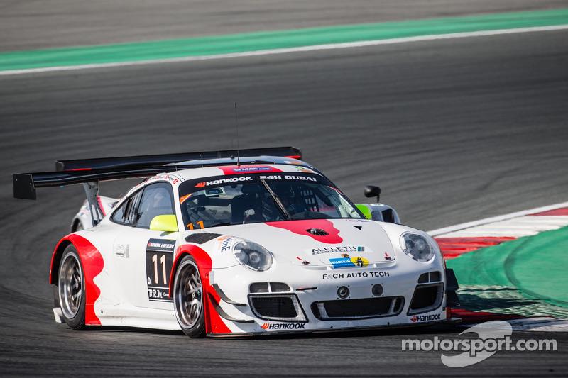 #11 Fach Auto Tech, Porsche 997 GT3 R: Marcel Wagner, Heinz Bruder, Erwin Keller, Heinz Arnold, Matt