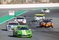 #53 Dinamic Motorsport, Porsche 991 Cup: Tiziano Cappelletti, Tiziano Frazza, Mario Cordoni, Piero Foglio, Roberto Rayneri