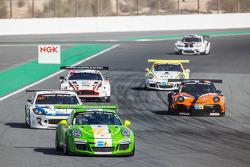 #53 Dinamic Motorsport Porsche 991 Cup: Tiziano Cappelletti, Tiziano Frazza, Mario Cordoni, Piero Foglio, Roberto Rayneri