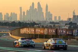 #10 GTRussian Mercedes SLS AMG GT3: Alexey Vasilyev, Marko Asmer, Karim Al Azhari, Kevin Korjus, #25