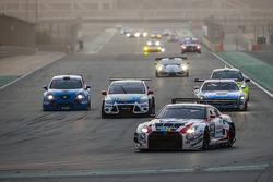 #23 Nissan GT Academy Team RJN Nissan GTR GT3: Florian Strauss, Ricardo Sanchez, Ahmed Bin Khanen, N