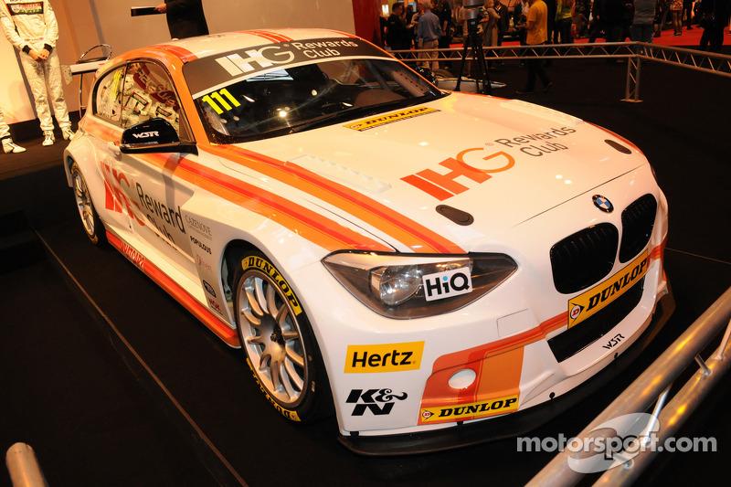 Andy Priaulx, WSR BTCC 2015 BMW 125i