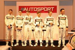 Finalistes du McLaren Young Drives Autosport