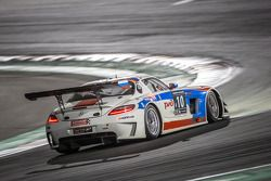 #10 GTRussian 梅赛德斯SLS AMG GT3: Alexey Vasilyev, Marko Asmer, Karim Al Azhari, Kevin Korjus