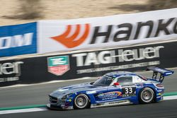 #33 SPS automotive-performance Mercedes SLS AMG GT3: Valentin Pierburg, Lance David Arnold, Patrick