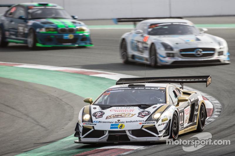 #22 Leipert Motorsport, Lamborghini Gallardo FL2: Jean-Charles Perrin, Harald Schlotter, Adrian Watt